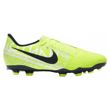 Nike JR PHANTOM VENOM ACADEMY FG yellow - Kids' football boots