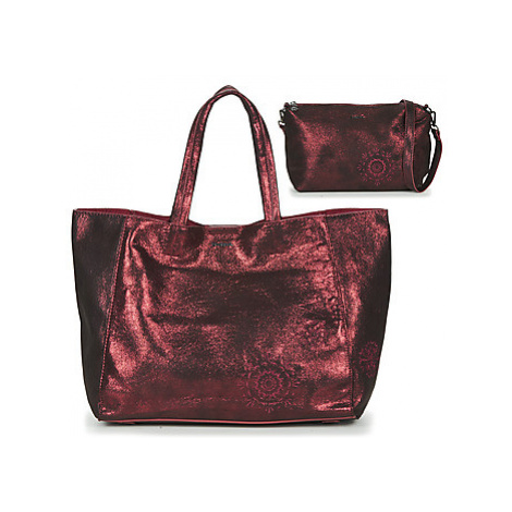 Desigual BRILLI CUENCA women's Shopper bag in Bordeaux