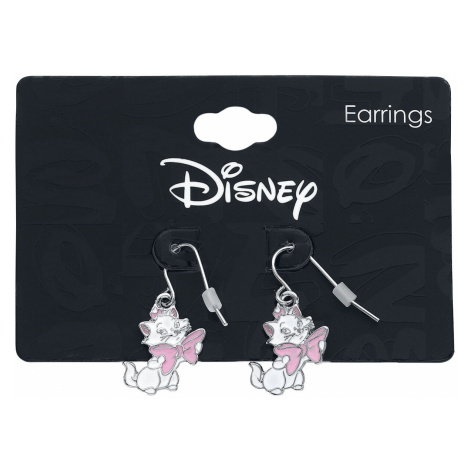 Aristocats Marie Earrings pink white