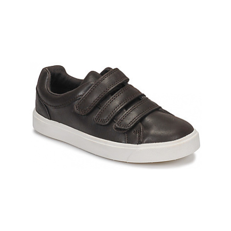 Clarks City OasisLo K boys's Children's Shoes (Trainers) in Brown