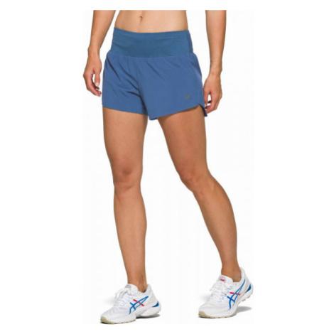 Asics ROAD 3.5IN SHORT blue - Women's running shorts