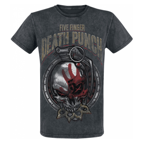 Five Finger Death Punch - Grenade - T-Shirt - black