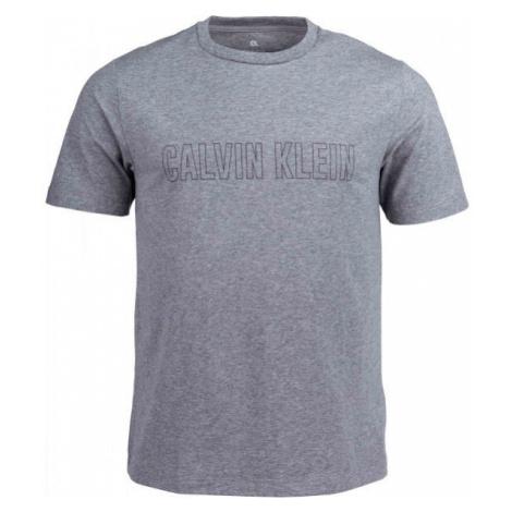 Calvin Klein SHORT SLEEVE T-SHIRT grey - Men's T-Shirt