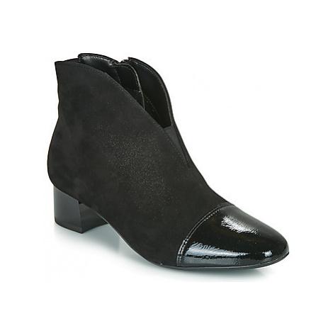 Ara 16605-79 women's Low Ankle Boots in Black