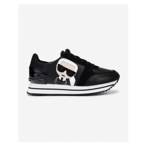 Karl Lagerfeld Velocita II Karl Iconic Meteor Sneakers Black