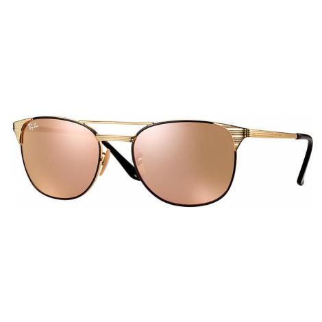 Ray-Ban Signet Man Sunglasses Lenses: Pink, Frame: Gold - RB3429M 9000Z2 58-19