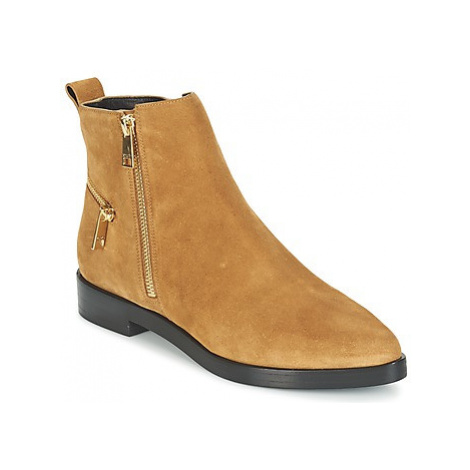 Kenzo TOTEM FLAT BOOTS women's Mid Boots in Brown