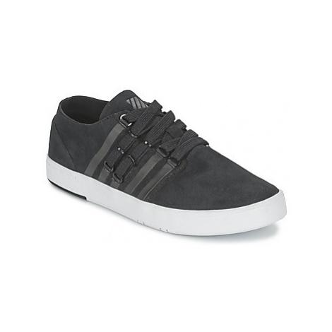 K-Swiss D R CINCH LO men's Shoes (Trainers) in Black