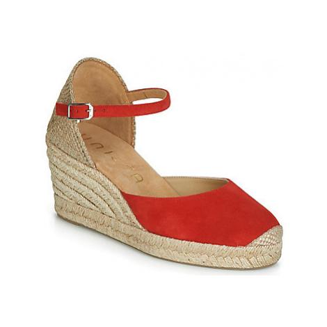Unisa CARCERES women's Sandals in Red