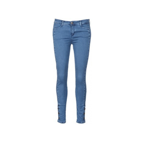 Acquaverde ALFIE women's Skinny Jeans in Blue