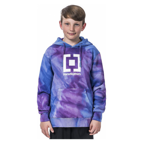 sweatshirt Horsefeathers Leader - Tie Dye - unisex junior