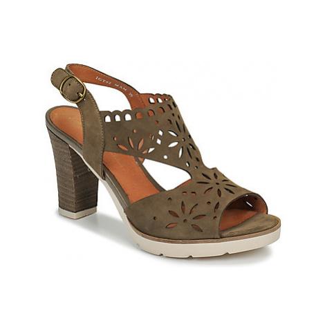 Mam'Zelle TREVIR women's Sandals in Kaki
