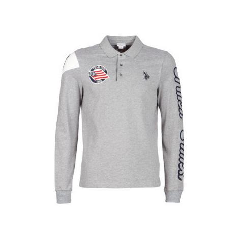 U.S Polo Assn. UNITED STATES POLO men's Polo shirt in Grey U.S. Polo Assn