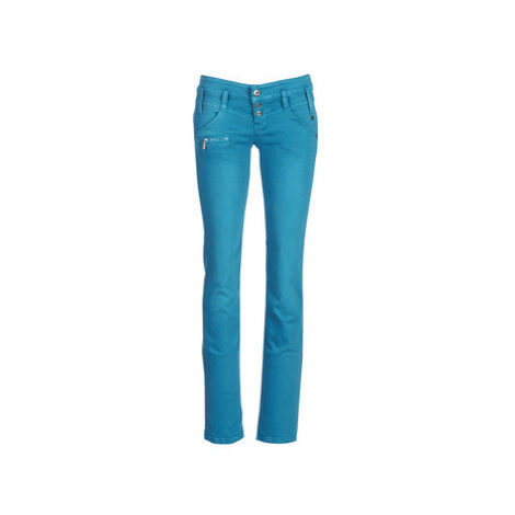 Freeman T.Porter Amelie New Magic Color women's Trousers in Blue Freeman T. Porter