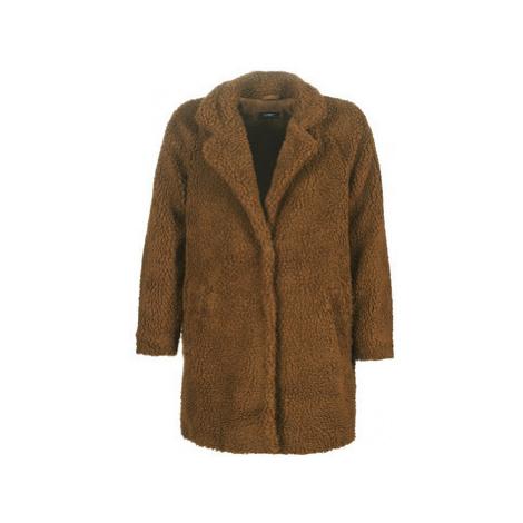 Only ONLAURELIA women's Coat in Brown