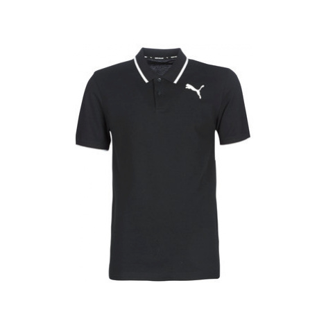 Puma MODERN POLO men's Polo shirt in Black