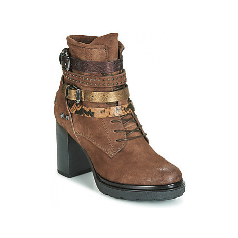 Metamorf'Ose FALENCIA women's Low Ankle Boots in Brown