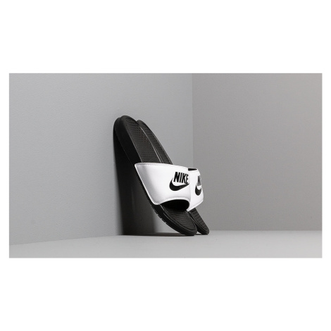 Nike Benassi Jdi White/ Black-Black