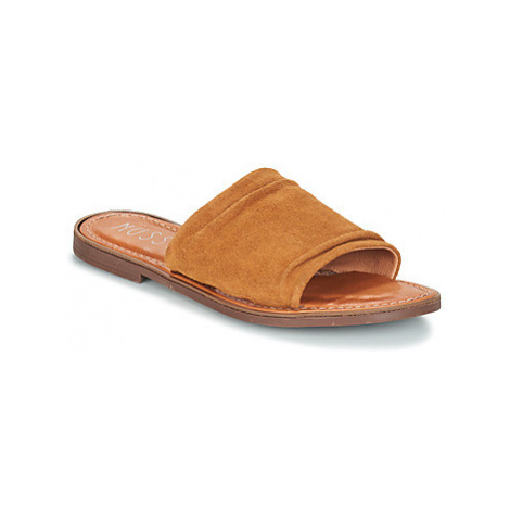 Musse Cloud KENNICE women's Mules / Casual Shoes in Brown Musse & Cloud