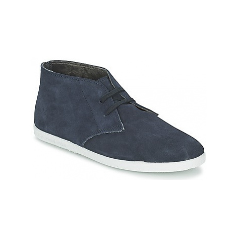 Yurban PERTU women's Shoes (High-top Trainers) in Blue
