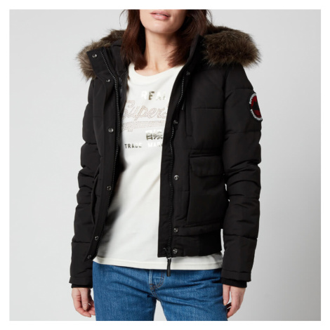 Superdry Women's Everest Bomber Jacket - Black