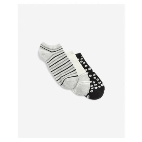 GAP Set of 3 pairs of socks Black Grey
