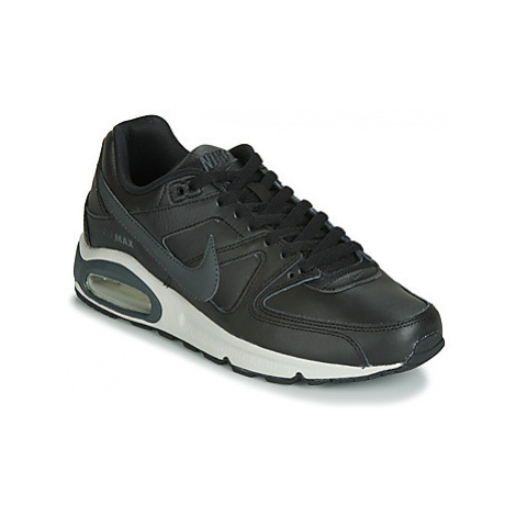 Nike AIR MAX COMMAND LEATHER men's Shoes (Trainers) in Black