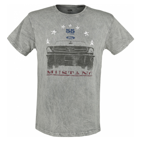 Ford - Mustang - 55 Years - T-Shirt - blue-grey