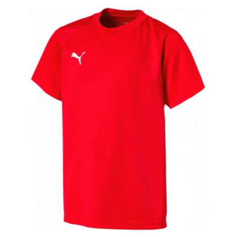 Puma LIGA TRAINING JERSEY JR red - Children's T-shirt