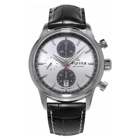 Mens Alpina Alpiner Automatic Chronograph Watch AL-750SG4E6