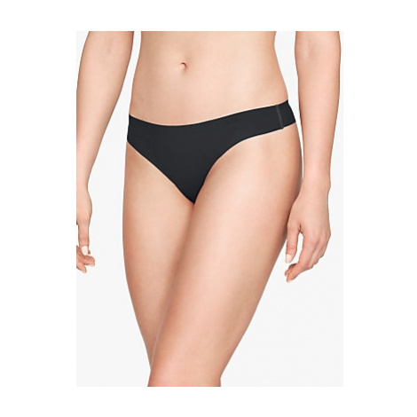 Under Armour Pure Stretch Thong, Pack of 3, Black