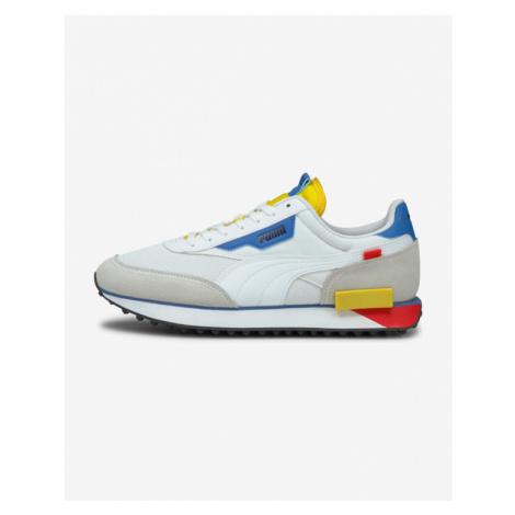 Puma Future Rider Neon Play Sneakers White Grey