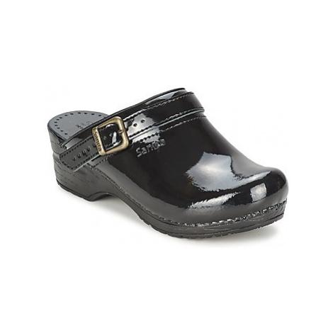 Sanita FREYA women's Clogs (Shoes) in Black