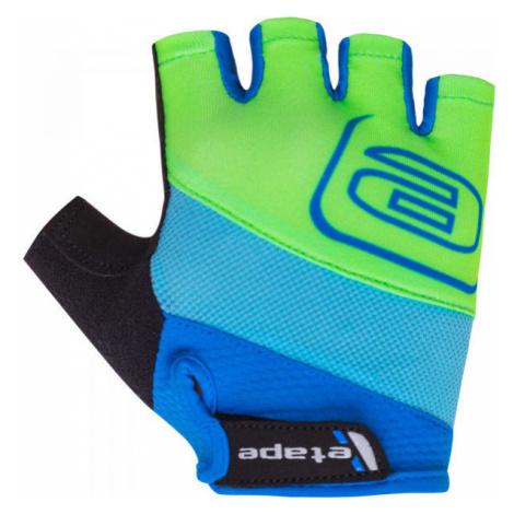 Etape SIMPLE blue - Kids' cycling gloves