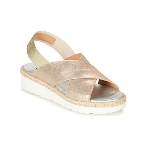 Myma BRITTY women's Sandals in Gold