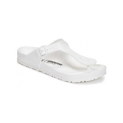 Birkenstock GIZEH EVA women's Flip flops / Sandals (Shoes) in White