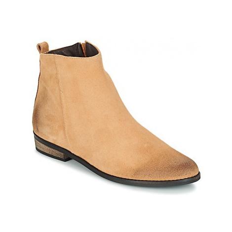 So Size GARENA women's Mid Boots in Beige
