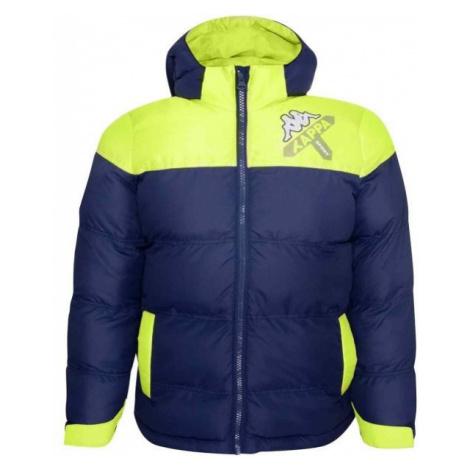 Kappa LOGO ZITRAX dark blue - Kids' winter jacket