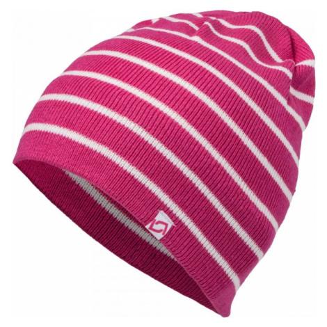 Lewro HELEN white - Girls' knitted hat