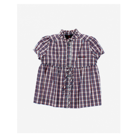 John Richmond Kids Shirt Blue Red