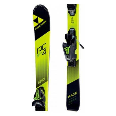 Fischer RC4 RACE JR. + FJ4 SLR - Kids' downhill skis