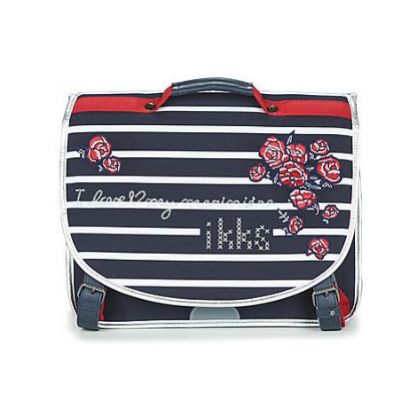 Ikks I LOVE MY MARINIERE CARTABLE 38 CM girls's Briefcase in Blue
