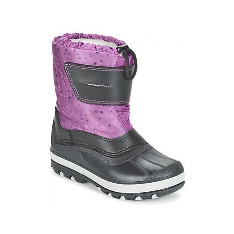 Citrouille et Compagnie FIZKO girls's Children's Snow boots in Purple