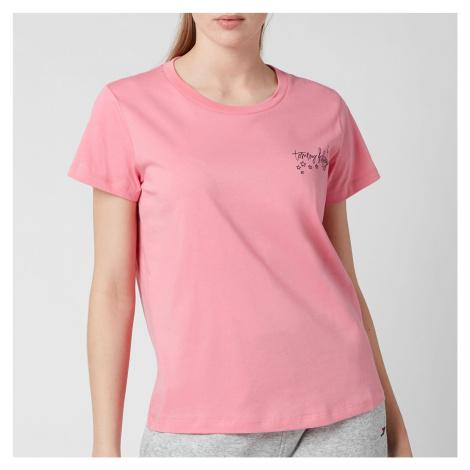 Tommy Hilfiger Women's Short Sleeve T-Shirt - Hamptons Pink