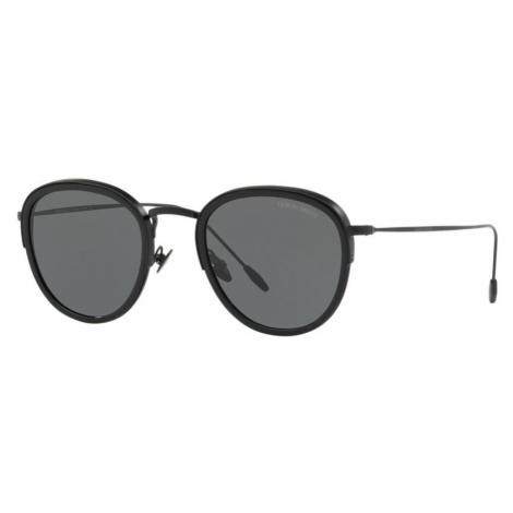 Giorgio Armani Man AR6068 - Frame color: Black, Lens color: Grey-Black, Size 50-22/150