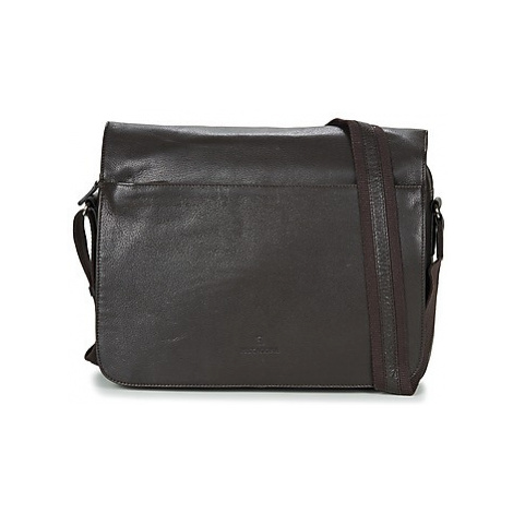 Hexagona BACACION men's Messenger bag in Brown