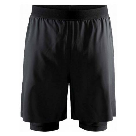 Craft VENT 2v1 black - Men's sports shorts