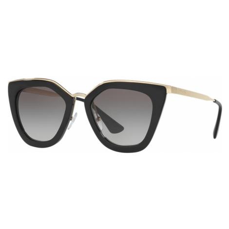 Prada Woman PR 53SS - Frame color: Black, Lens color: Grey-Black, Size 52-21/140