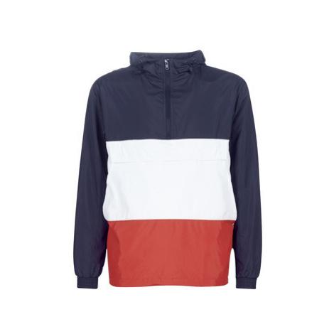 Urban Classics 3-TONE HOODY men's Sweatshirt in Red