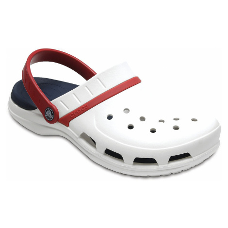 shoes Crocs Modi Sport Clog - White/Navy/Pepper